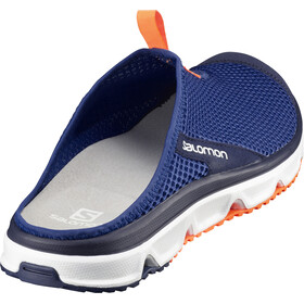 Salomon M's RX Slide 3.0 Shoes Surf the Web/White/Schocking Orange